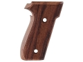 Product detail of Hogue Fancy Hardwood Grips Sig Sauer P228, P229 Checkered Rosewood