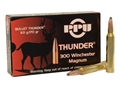 Prvi Partizan Thunder Ammunition 300 Winchester Magnum 170 Grain GROM Soft Point Box of 20