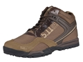 5.11 Range Master Low Uninsulated Tactical Boots Nylon and Leather Dark Coyote Men's 11 D