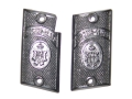 Vintage Gun Grips Looking Glass with Hammer 25 ACP Polymer Black