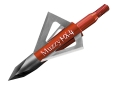 Muzzy MX-4 Fixed Blade Broadhead 100 Grain Stainless Steel Pack of 3