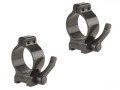 Talley 1&quot; Quick Detachable Scope Rings With Lever Matte Low
