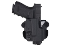 Comp-Tac Paddle Holster Straight Drop Right Hand Springfield XD 9mm Luger, 40 S&amp;W Kydex Black