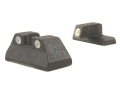 Meprolight Tru-Dot Sight Set HK USP Compact Steel Blue Tritium Green