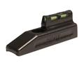HIVIZ LITEWAVE Front Sight Ruger Mark II, Mark III, 22/45, Buckmark Steel Fiber Optic Red, Green, White