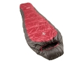 Coleman Taos 25 Degree Mummy Sleeping Bag 32 x 82 Polyester Red and Gray