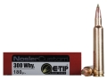 Nosler Trophy Grade Ammunition 300 Weatherby Magnum 180 Grain E-Tip Lead-Free Box of 20