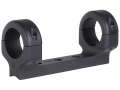 DNZ Products Game Reaper 1-Piece Scope Base with 1&quot; Integral Rings CVA Optima Elite, Apex Matte Medium