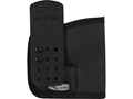 Uncle Mike's Advanced Concealment Inside the Pocket Holster Ambidextrous S&W M&P Shield, Ruger LCP Laminated Nylon Black
