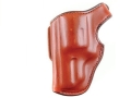 Bianchi 55L Lightnin&#39; Holster Left Hand S&amp;W 36, 38, 49, 60, 442, 649 2&quot; Barrel Suede Lined Leather Tan