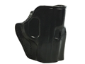 Galco Stinger Belt Holster Right Hand Glock 43 Leather Black