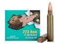 Brown Bear Ammunition 223 Remington 62 Grain Hollow Point (Bi-Metal) Box of 20