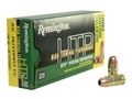 Remington High Terminal Performance Ammunition 45 ACP 185 Grain Jacketed Hollow Point Box of 50