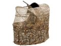 Ameristep Wing Shooter Chair Ground Blind 60&quot; x 40&quot; x 57-1/4&quot; Polyester Realtree Max-4 Camo
