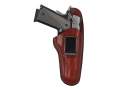 "Bianchi 100 Professional Inside the Waistband Holster Right Hand Ruger SP101, S&W J-Frame 2"" Barrel Leather Tan"