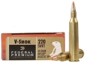 Federal Premium V-Shok Ammunition 220 Swift 40 Grain Nosler Ballistic Tip Box of 20