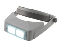 Donegan Optical OptiVISOR Magnifying Headband Visor with 2X at 10&quot; Lens Plate