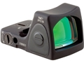 Trijicon RMR Reflex Red Dot Sight Adjustable LED 6.5 MOA Red Dot Matte