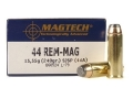 Magtech Sport Ammunition 44 Remington Magnum 240 Grain Semi-Jacketed Soft Point