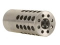 Product detail of Vais Muzzle Brake Micro 284 Caliber, 7mm 1/2&quot;-32 Thread .750&quot; Outside Diameter x 1.750&quot; Length Stainless Steel