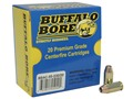 Product detail of Buffalo Bore Ammunition 45 ACP +P 230 Grain Jacketed Hollow Point Box of 20