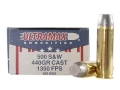 Ultramax Ammunition 500 S&W Magnum 440 Grain Lead Flat Nose Box of 20