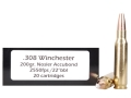 Doubletap Ammunition 308 Winchester 200 Grain Nosler AccuBond Spitzer Box of 20