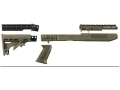 TAPCO T6 Rifle Stock 6-Position Collapsible Ruger Mini-14, Mini-30 Standard Barrel Channel Synthetic