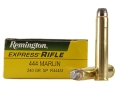 Product detail of Remington Express Ammunition 444 Marlin 240 Grain Jacketed Soft Point Box of 20