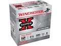 "Winchester Super-X High Brass Ammunition 12 Gauge 2-3/4"" 1-1/4 oz #8 Shot"