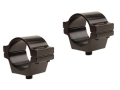 "Williams Q.C. (Quick Convertible) 1"" Split Rings Aluminum Matte Package of 2"