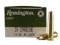 Remington UMC Ammunition 30 Carbine 110 Grain Full Metal Jacket