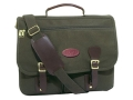 "Boyt Briefcase Bag 17"" x 12"" x 5"" Canvas Green"