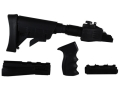 Advanced Technology Ultimate Professional Strikeforce 6-Position Collapsible Side Folding Stock Set with Aluminum Upgrade, Scorpion Recoil System, Handguard & Pistol Grip AK-47 Stamped Receivers Black