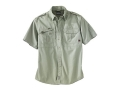 Woolrich Elite Shirt Short Sleeve Cotton Poplin