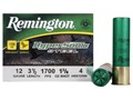 Product detail of Remington HyperSonic Ammunition 12 Gauge 3-1/2&quot; 1-3/8 oz #4 Non-Toxic Steel Shot Box of 25