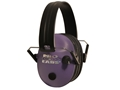 Pro Ears Pro 200 Electronic Earmuffs (NRR 19 dB) Purple