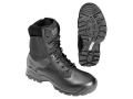 """5.11 ATAC 8"""" Uninsulated Tactical Boots Side Zip Leather and Nylon Black Men's"""