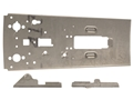 Power Custom AK-47 Polish Underfolder Flat 7.62x39mm with Top Rail Bent and Trimmed