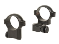 "Leupold 1"" Extended Front Ring Mounts Ruger #1, 77/22 Matte Medium"
