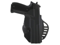 Hogue PowerSpeed Concealed Carry Holster Outside the Waistband (OWB) Right Hand Sig Sauer P225, P226  Polymer Black