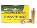 Remington Express Ammunition 41 Remington Magnum 210 Grain Jacketed Soft Point Box of 50