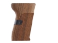 Hogue Fancy Hardwood Grips CZ 52 Checkered Pau Ferro