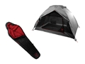 Badlands Ascent Dome Tent with Factory Second Cinder 35 Degree Sleeping Bag