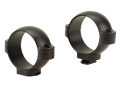 Burris 30mm Standard Rings Matte Medium