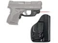Crimson Trace Laserguard Springfield XD-S 4.0 9mm, 45 ACP Red Laser Polymer Black