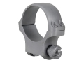 Product detail of Ruger 30mm Ring Mount 4K30HM Silver Matte Medium