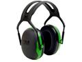 Peltor X1 Ear Defenders Earmuffs (NRR22 dB) Green