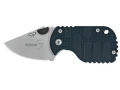 "Boker Plus Subcom F Folding Knife 1-7/8"" Drop Point AUS-8 Stainless Steel Blade Nylon Handle Black"