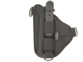 Bianchi 4620H Tuxedo Holster Browning Hi-Power, S&W 909, 5906 Suede Lined Trilaminate Black